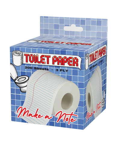 Note Pad Toilet Paper
