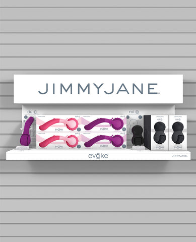 PROMO/TESTER Jimmyjane Prepack Shelf-n-Shop Evoke Display w/Tester