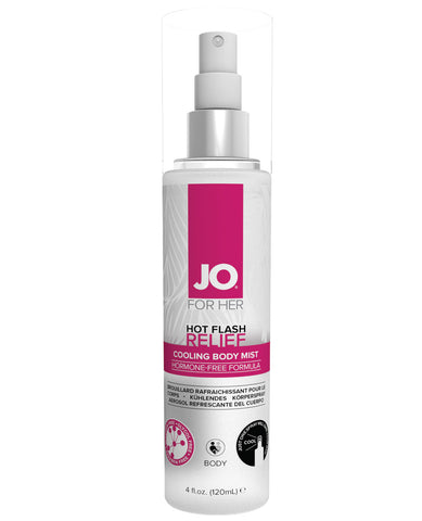 JO Hot Flash Relief Spray Cooling Body Mist - 4 oz