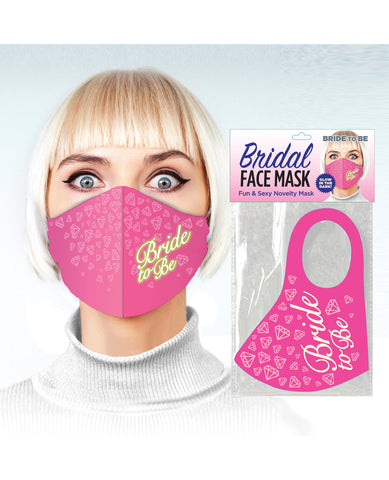 Bride to be Face Mask - Pink