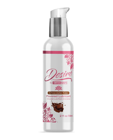 Swiss Navy Desire Chocolate Kiss Flavored Lubricant - 2 oz