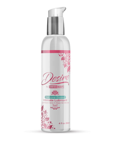 Swiss Navy Desire Silicone Based Intimate Lubricant - 4 oz