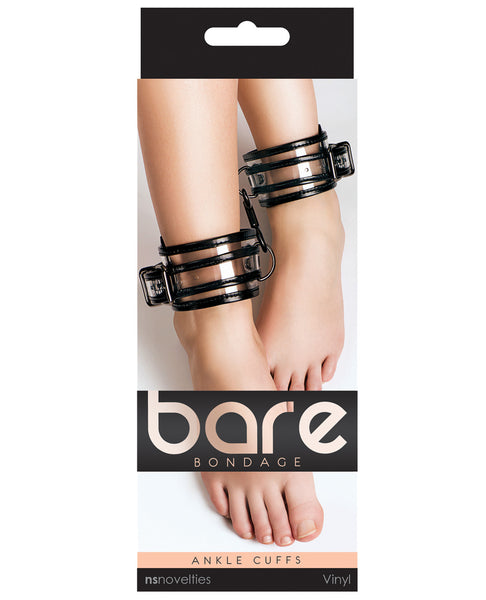 NS Novelties Bare Bondage Ankle Cuffs