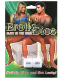 Erotic Dice in Couples Packaging - Glow in the Dark