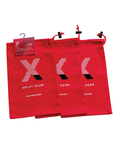 "Xplay Gear Ultra Soft Gear Bag 8"" x 13"" - Cotton Pack of 3"