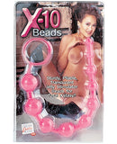 X-10 Beads - Pink