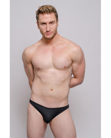 Pride Tartarus Side Snap Brief - Black