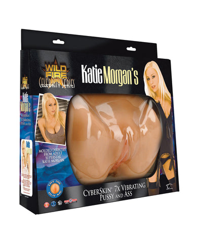 WildFire Celebrity Series Katie Morgan Cyberskin Vibrating Pussy & Ass