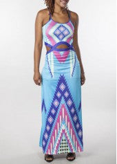 Bohemian High Waist Cutout Dress - Miss Red Carpet