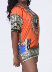 Tribal Print Dashiki - Miss Red Carpet