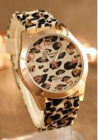 Leopard Print Watch - Miss Red Carpet