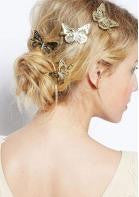 Butterfly Hairpin - 1pc - Miss Red Carpet