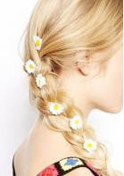 Daisy Hairpins - 6 pc - Miss Red Carpet