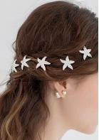 Crystal Starfish Hairpins - Miss Red Carpet