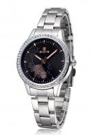 Rose Crystal Faced Watch - Miss Red Carpet