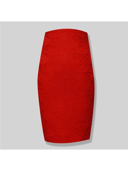 The Note Skirt - Miss Red Carpet