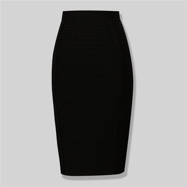 The Banded Skirt - Miss Red Carpet