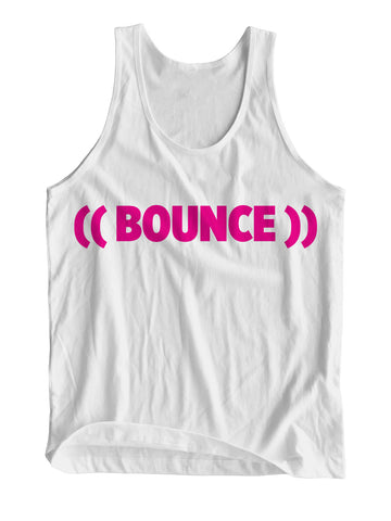 ((BOUNCE)) Sports Vest | White / Pink