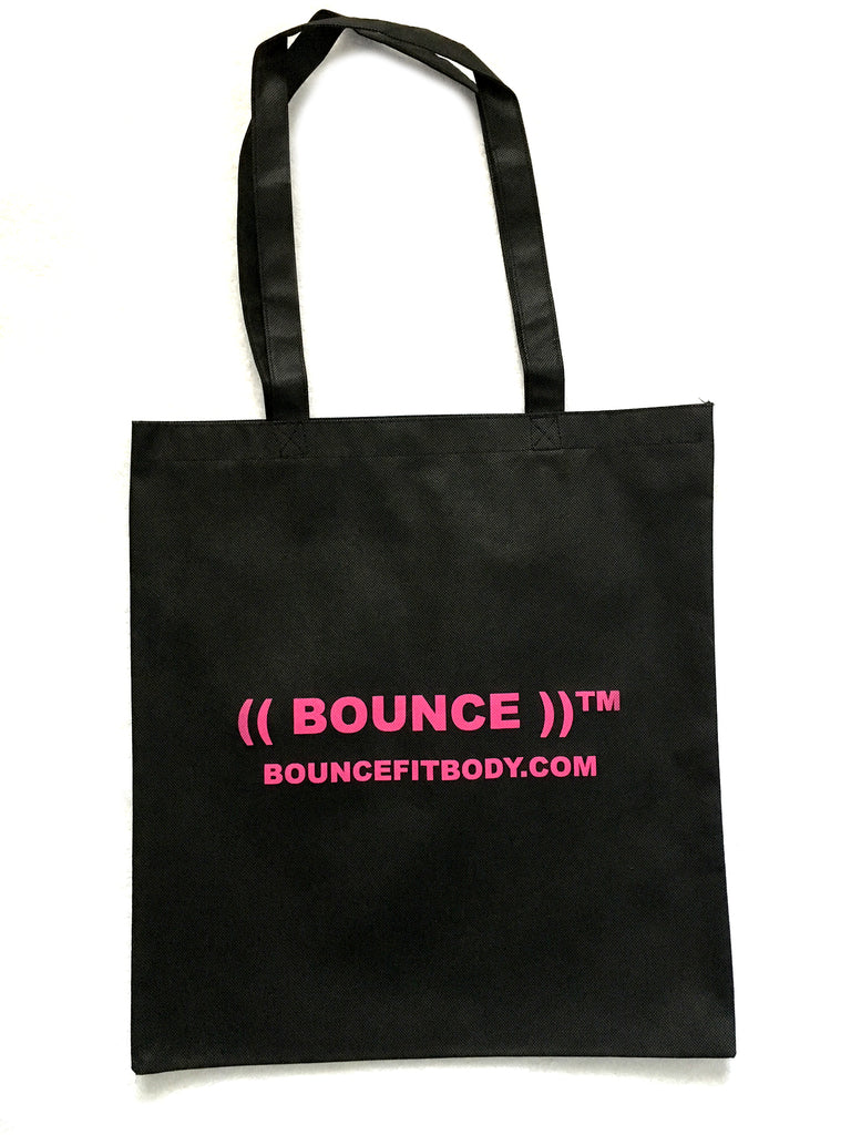 ((BOUNCE)) Canvas Bag  | Black