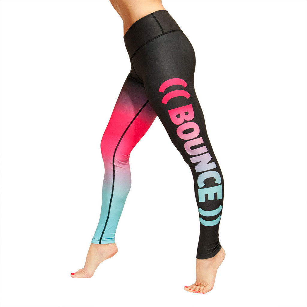((BOUNCE)) Luxe: Rainbow Leggings