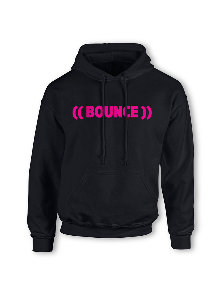 Kids ((BOUNCE)) #bouncearmy Hoodie | Black / Pink or Black / White