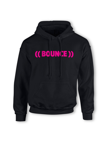 Kids ((BOUNCE)) Hoodie | Black / Pink or Black / White