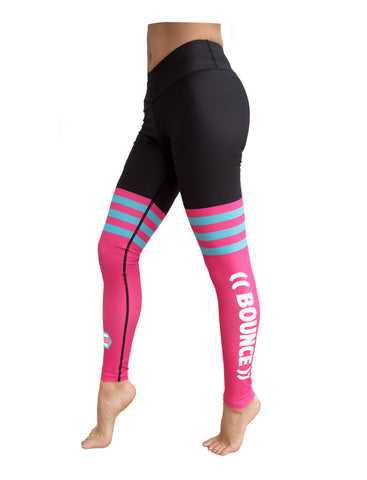((BOUNCE)) Pink Sock Leggings