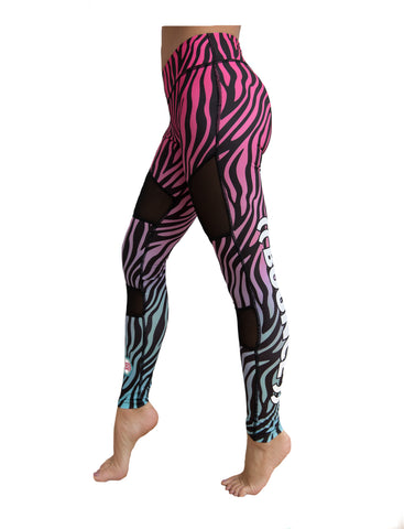 ((BOUNCE)) Zebra Leggings