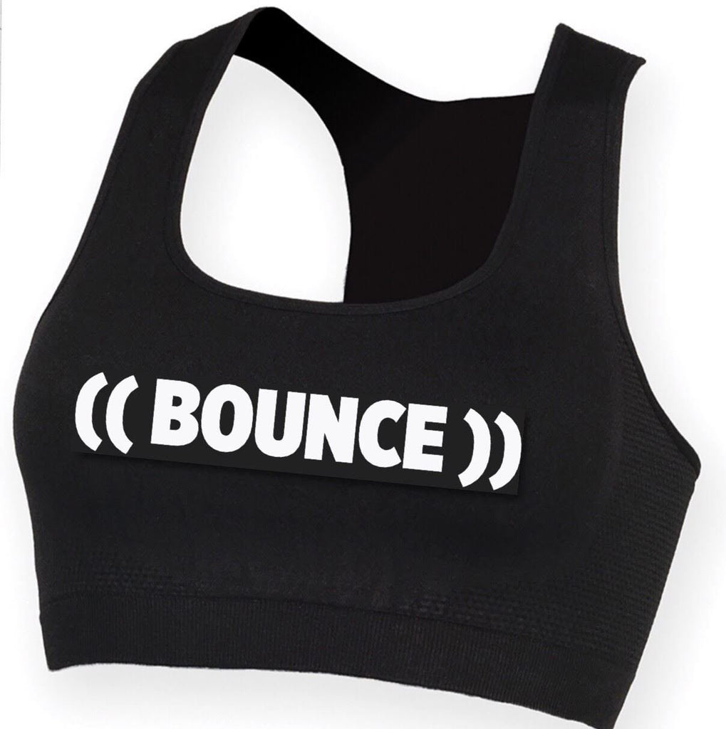 *NEW*  ((BOUNCE)) Crop Top | Black / White