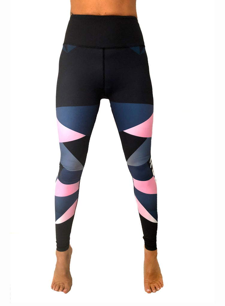 ((BOUNCE))  Harlequin Leggings