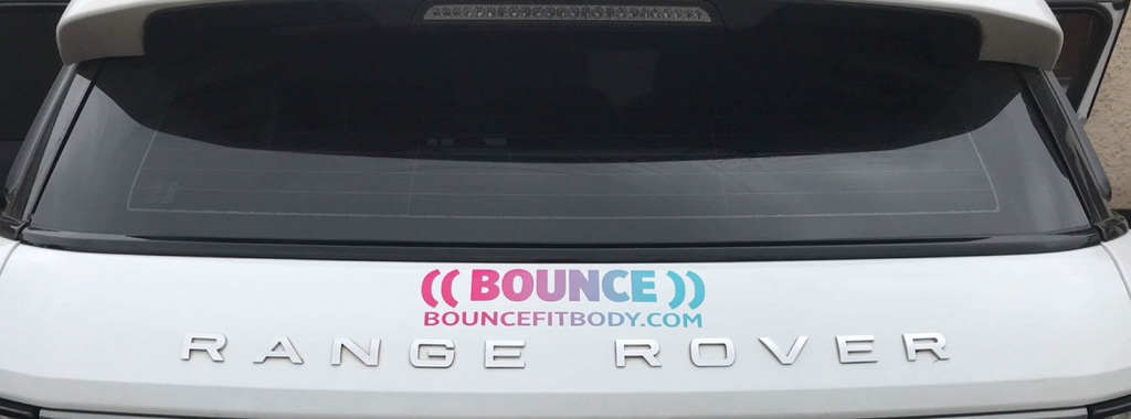 ((BOUNCE)) Car Sticker