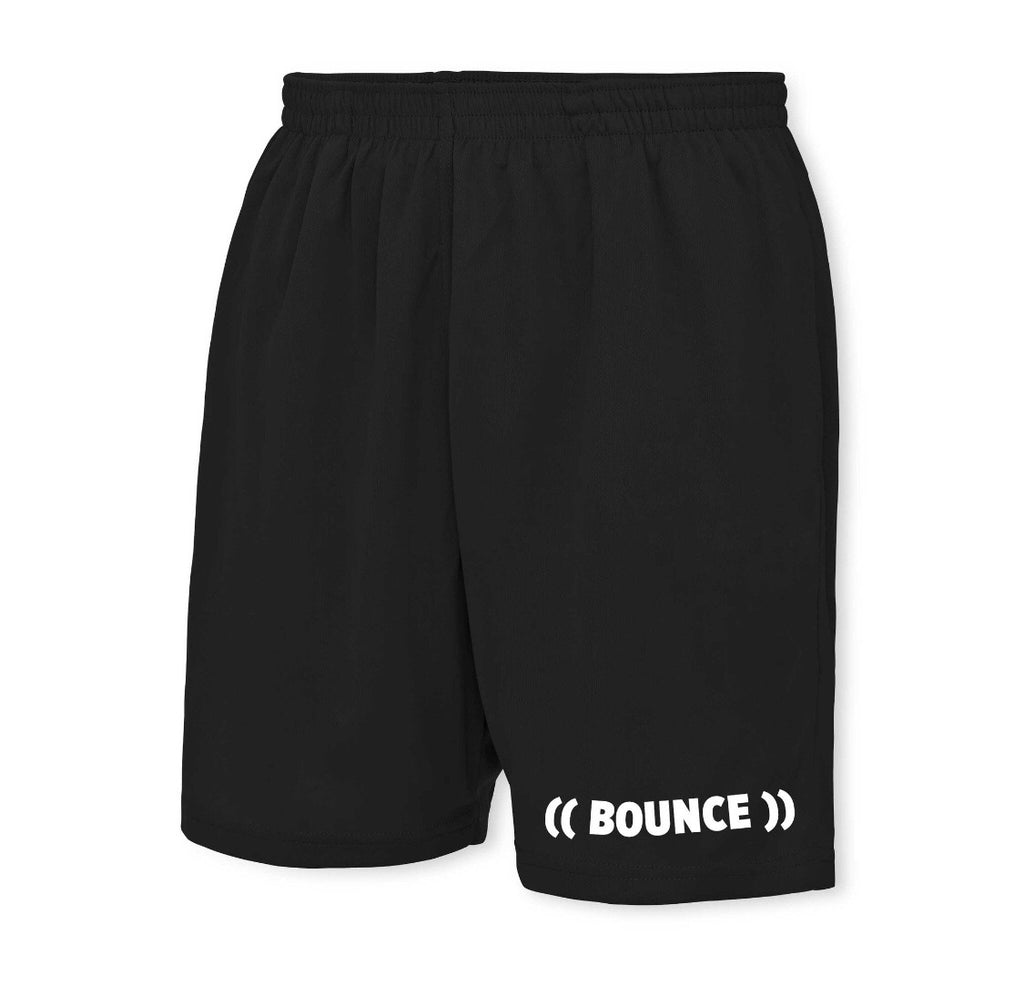 ((BOUNCE)) Men's Black with White Shorts x10 (25% Licensee Discount)