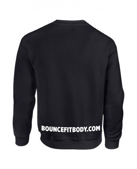 ((BOUNCE)) Men's Sweatshirt | Black / White
