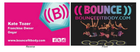 ((BOUNCE)) Business Cards
