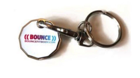 ((BOUNCE)) Trolley Token Keyring
