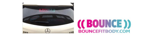 ((BOUNCE)) Car Stickers