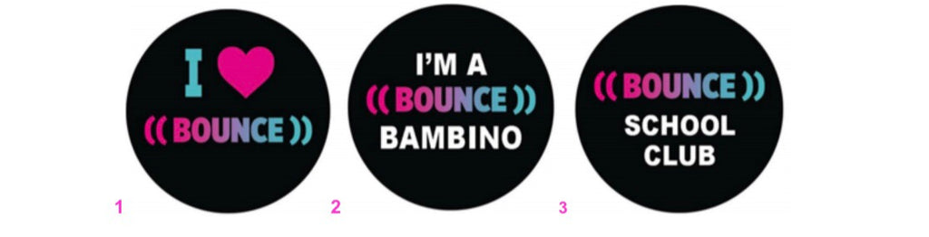 ((BOUNCE)) Stickers