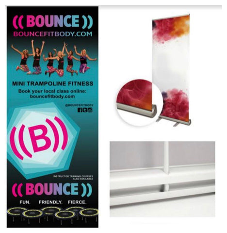 ((BOUNCE)) Roll-up Banners