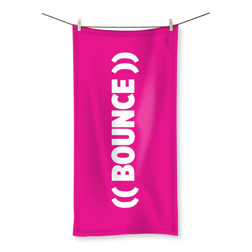 ((BOUNCE)) Sweat Towel | Pink