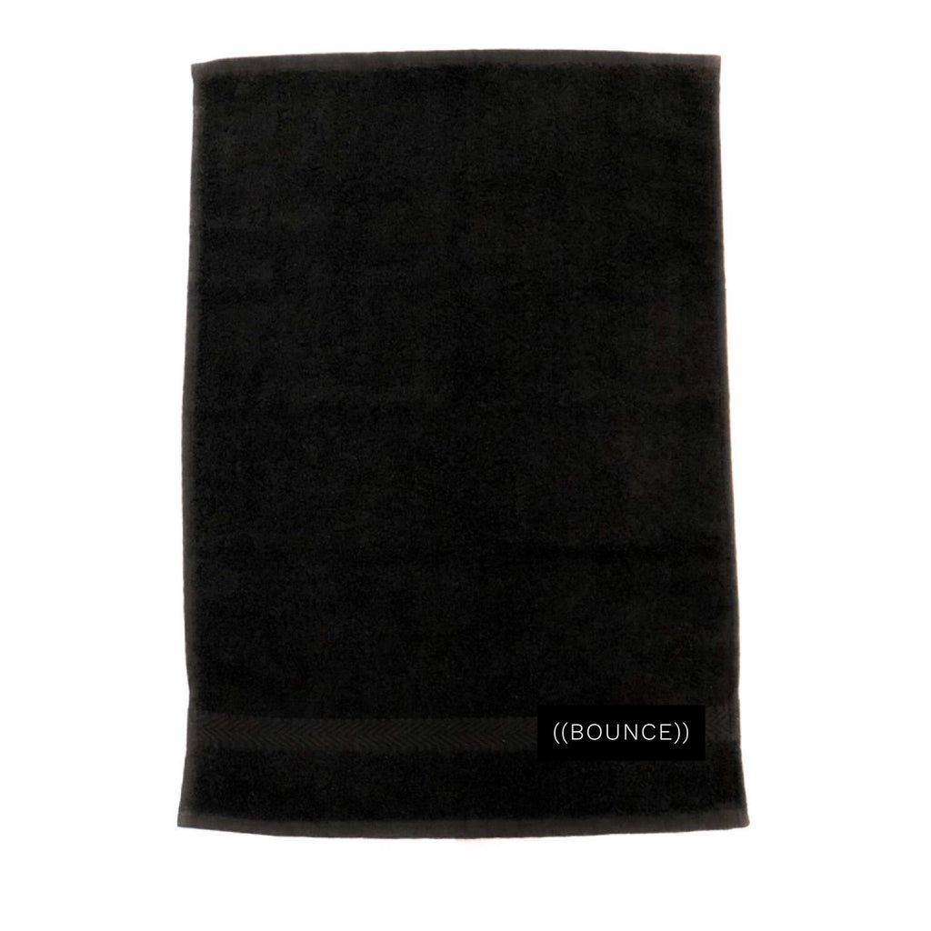 ((BOUNCE)) Small Towel | Black/ White