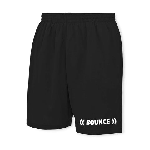 ((BOUNCE)) Men's Shorts | Black / White