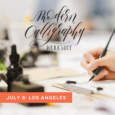 los angeles calligraphy workshop july 8