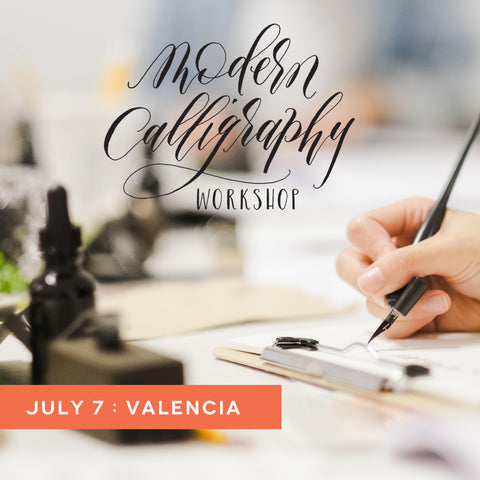july 7 calligraphy workshop at valencia town center