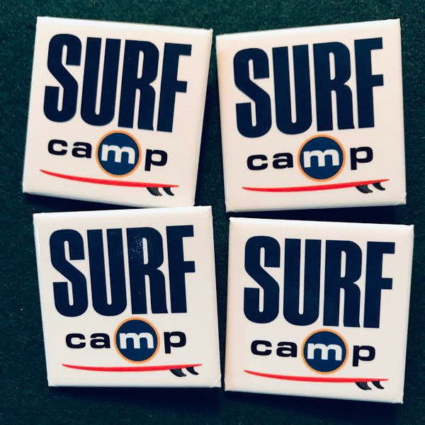 Official 'Surf Camp' Pin of Distinction