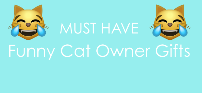 Top 5 MUST HAVE Funny Cat Owner Gifts