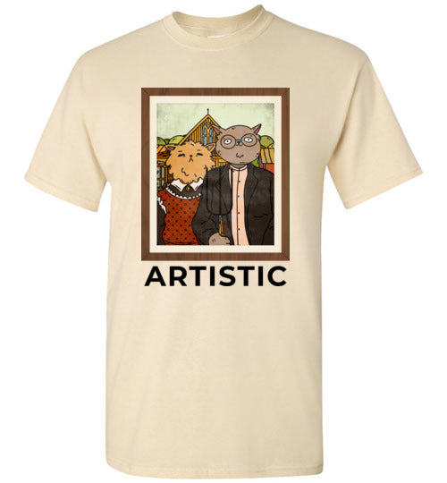 Artistic Cat T-Shirt