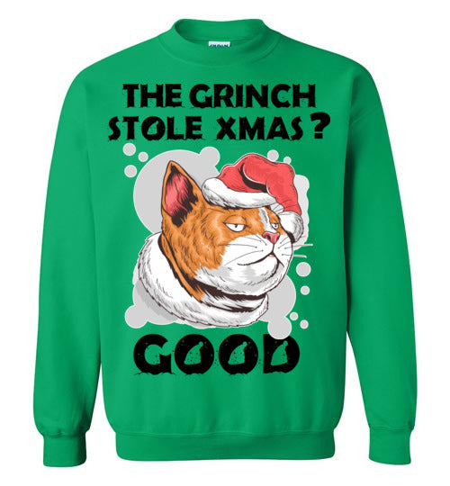 Grinch Stole Christmas Sweater
