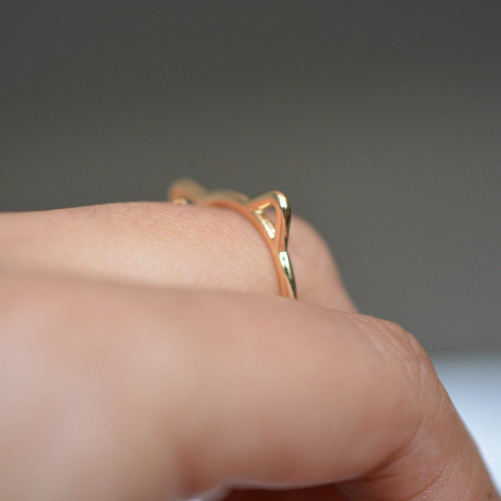 Ring With Cat Ears
