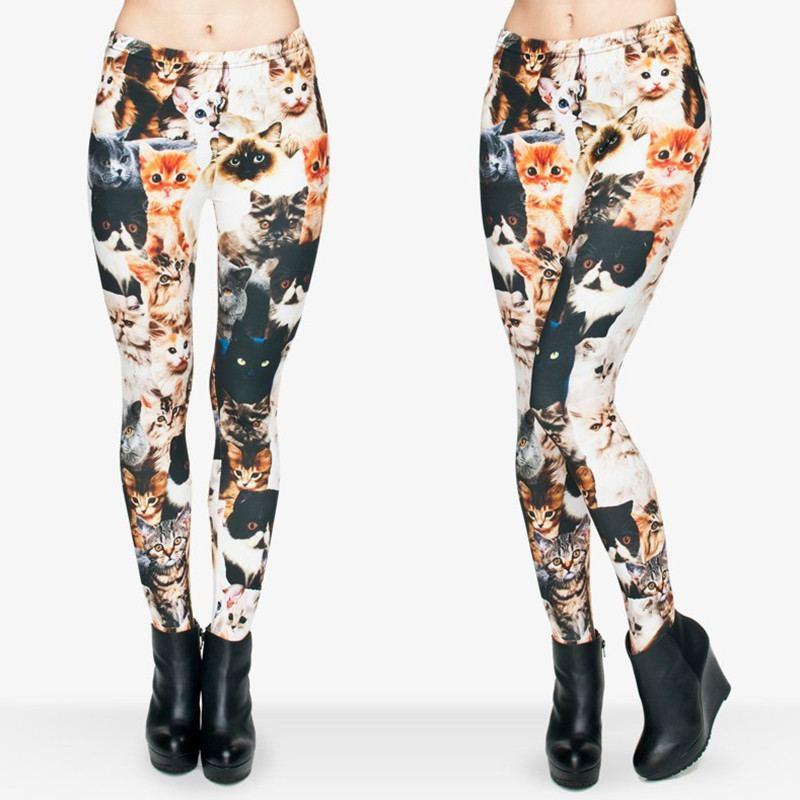 Cute Crowded Cat Leggings