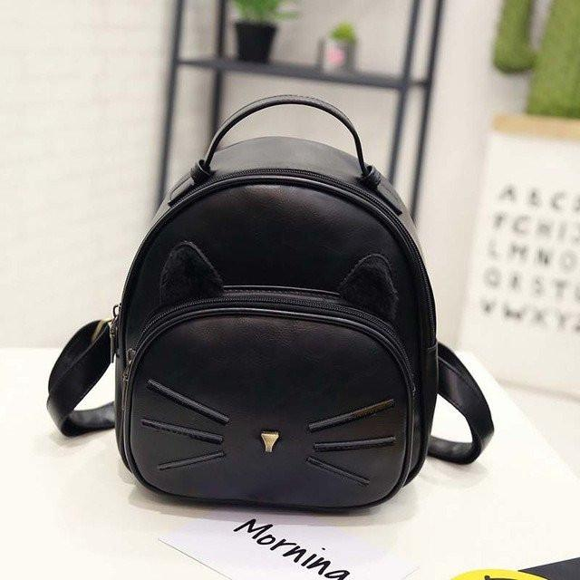Cat Ear and Whiskers Backpack